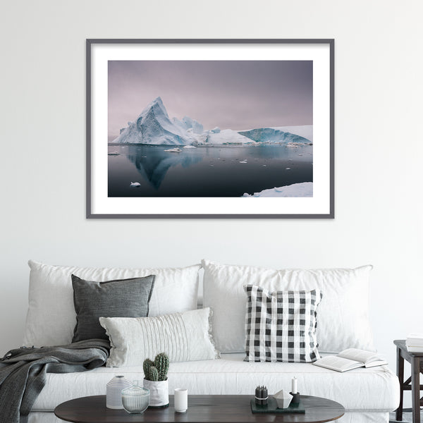 Icebergs in Greenland | Wall Art Print by Jan Erik Waider