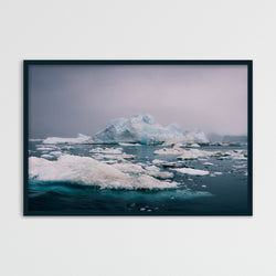 Evening Light over the Disko Bay in Greenland | Photography Print by Northlandscapes