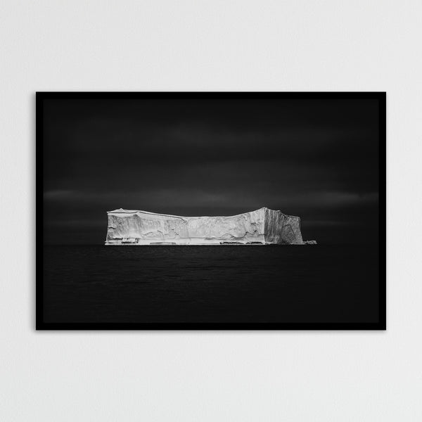 Black and White Iceberg in Greenland | Photography Print by Northlandscapes