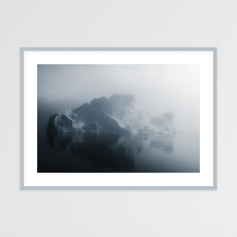 Iceberg in Soft Light in Greenland | Framed Photo Print by Jan Erik Waider