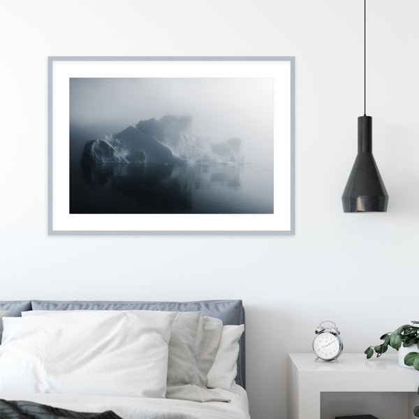 Iceberg in Soft Light in Greenland | Wall Art Print by Jan Erik Waider