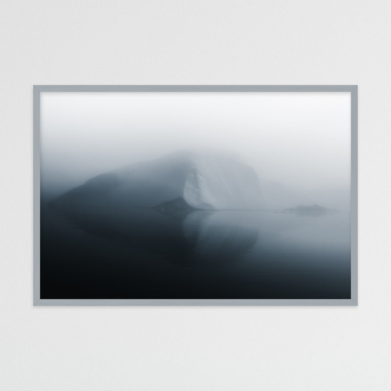 Minimalist Iceberg in Greenland | Photography Print by Northlandscapes