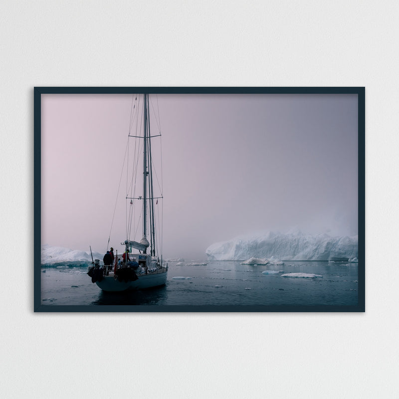 Sailing through the Disko Bay of Greenland | Photography Print by Northlandscapes