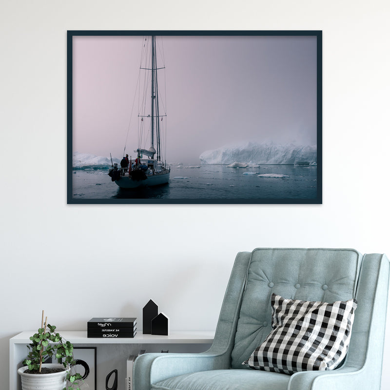 Sailing through the Disko Bay of Greenland | Fine Art Photography Print by Northlandscapes