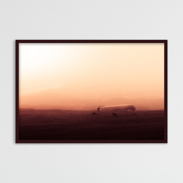 The Abandoned DC Plane on Sólheimasandur | Photography Print by Northlandscapes