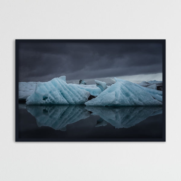 Icebergs in the Jökulsárlón Glacier Lagoon | Photography Print by Northlandscapes