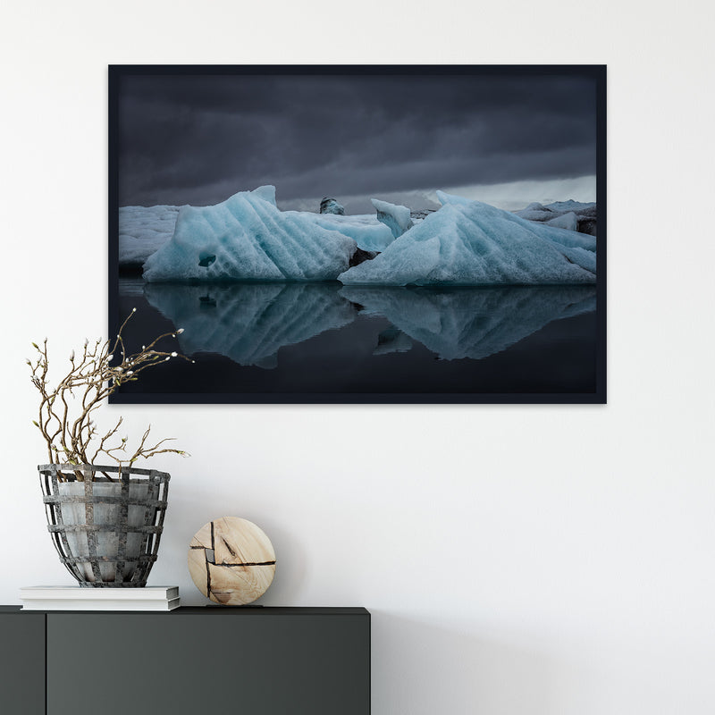 Icebergs in the Jökulsárlón Glacier Lagoon | Fine Art Photography Print by Northlandscapes