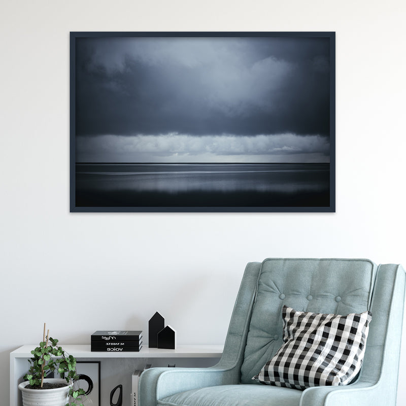 Dark Clouds over the Ocean | Fine Art Photography Print by Northlandscapes