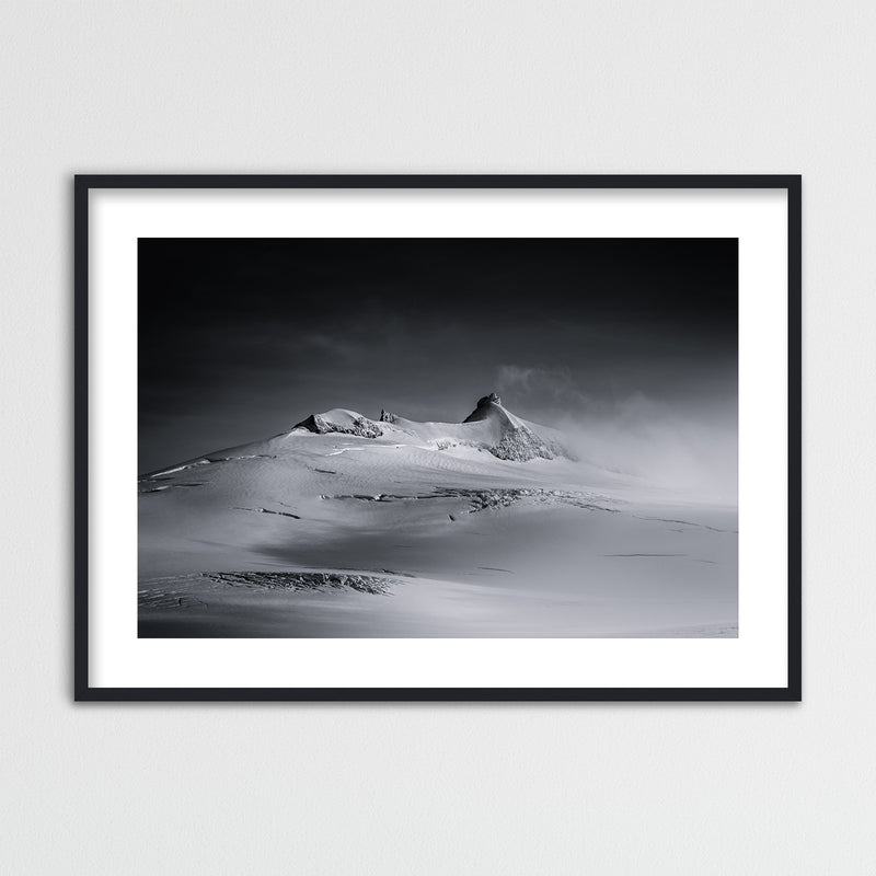 Snæfellsjökull on Snæfellsnes in Iceland | Framed Photo Print by Jan Erik Waider