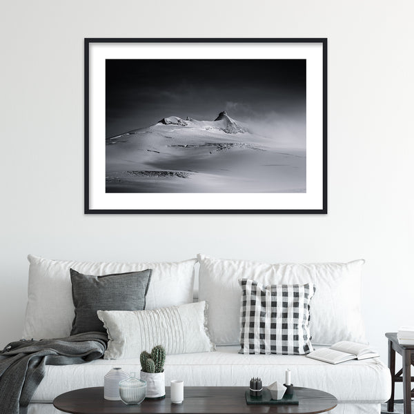 Snæfellsjökull on Snæfellsnes in Iceland | Wall Art Print by Jan Erik Waider