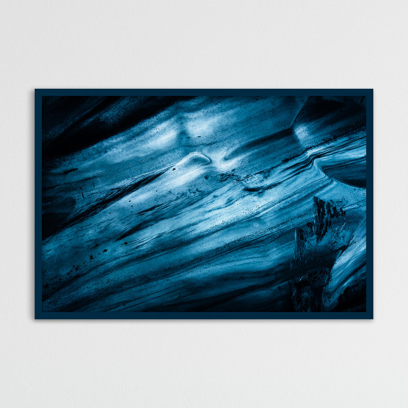 Abstract Blue Glacier Ice | Fine Art Photography Print by Northlandscapes