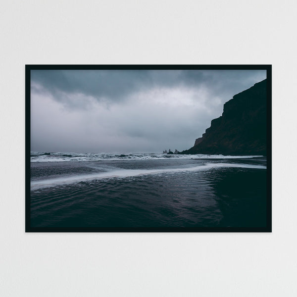 Black Sand Beach of Vik in Iceland | Photography Print by Northlandscapes