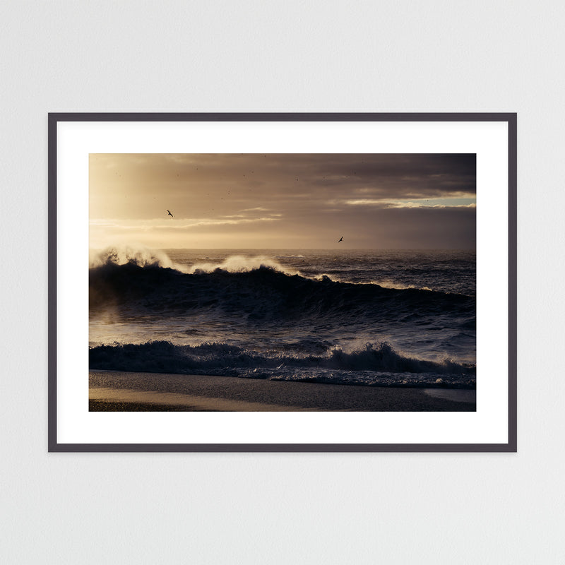 Winter Sunrise over Reynisfjara Beach | Framed Photo Print by Jan Erik Waider