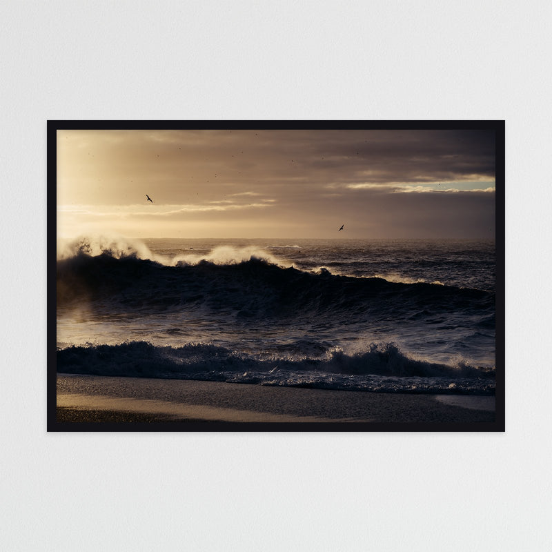 Winter Sunrise over Reynisfjara Beach | Photography Print by Northlandscapes