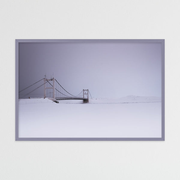 Bridge over Jökulsárlón Glacier Lagoon | Photography Print by Northlandscapes