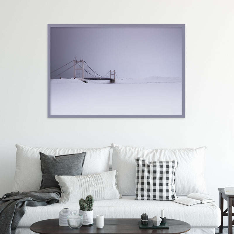 Bridge over Jökulsárlón Glacier Lagoon | Fine Art Photography Print by Northlandscapes