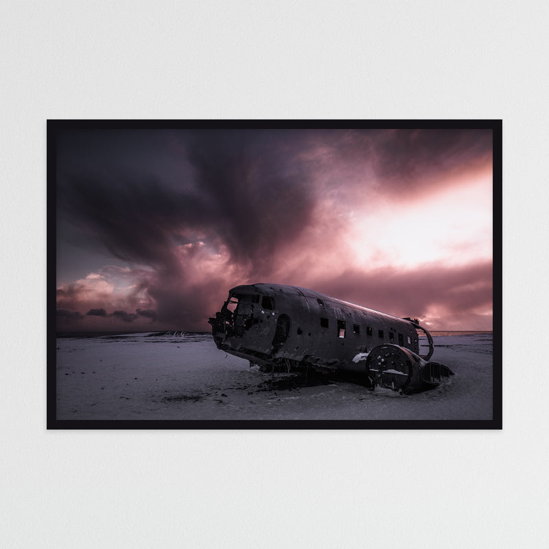Abandoned Wreck of Sólheimasandur in Iceland | Photography Print by Northlandscapes