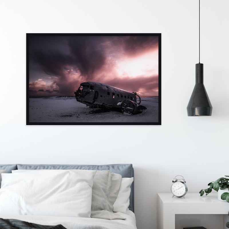 Abandoned Wreck of Sólheimasandur in Iceland | Fine Art Photography Print by Northlandscapes