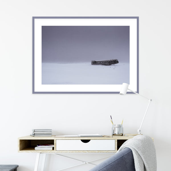 Plane Wreck of Sólheimasandur, Iceland | Wall Art Print by Jan Erik Waider