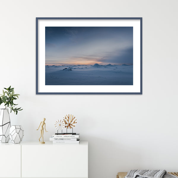 A Winter Morning in Iceland | Wall Art Print by Jan Erik Waider