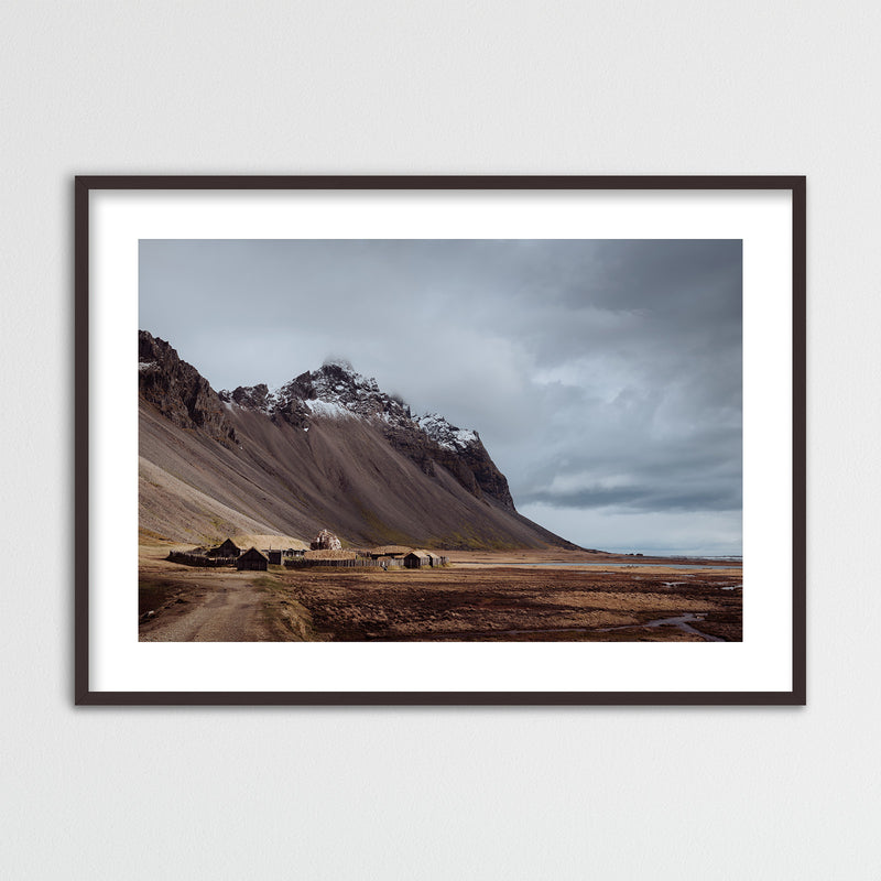 Viking Village in Iceland | Framed Photo Print by Jan Erik Waider