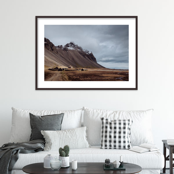 Viking Village in Iceland | Wall Art Print by Jan Erik Waider