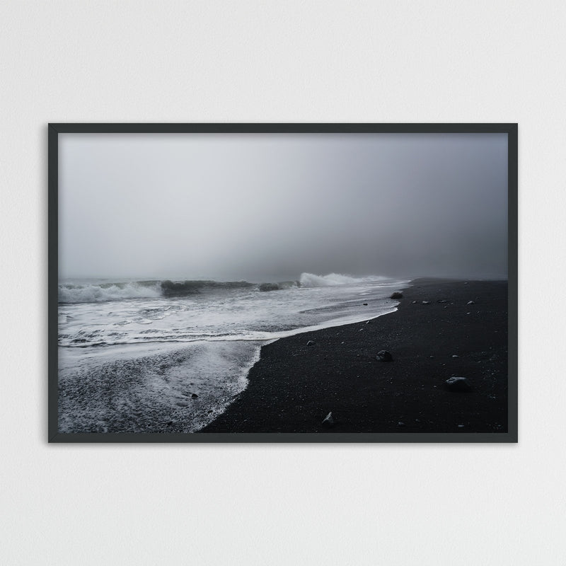 Reynisfjara Black Sand Beach, Iceland | Photography Print by Northlandscapes