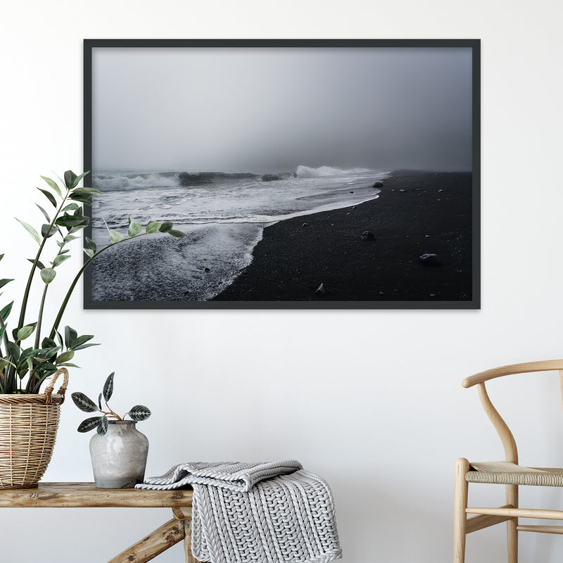 Reynisfjara Black Sand Beach, Iceland | Fine Art Photography Print by Northlandscapes
