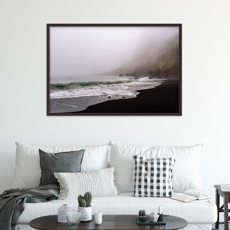 Moody Black Sand Beach of Vík in Iceland | Fine Art Photography Print by Northlandscapes
