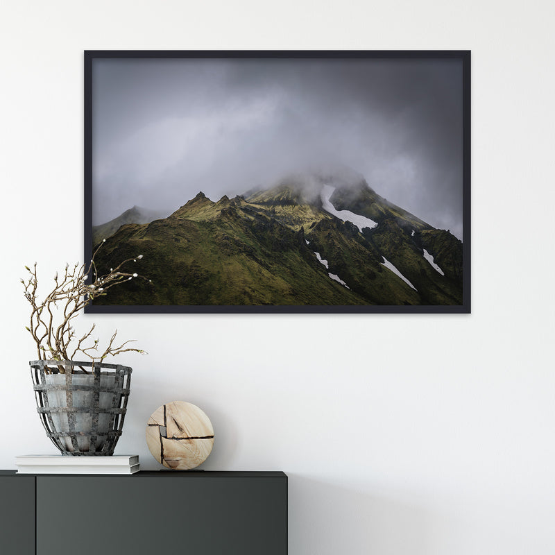 Green Mountains of the Icelandic Highlands | Fine Art Photography Print by Northlandscapes
