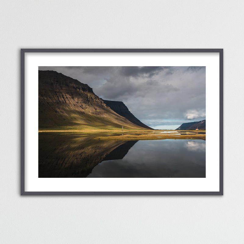 Autumn Colors of the Westfjords in Iceland | Framed Photo Print by Jan Erik Waider
