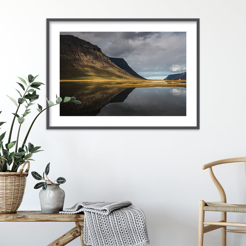 Autumn Colors of the Westfjords in Iceland | Wall Art Print by Jan Erik Waider
