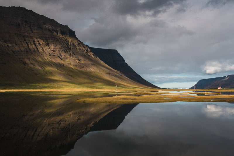 Autumn Colors of the Westfjords in Iceland