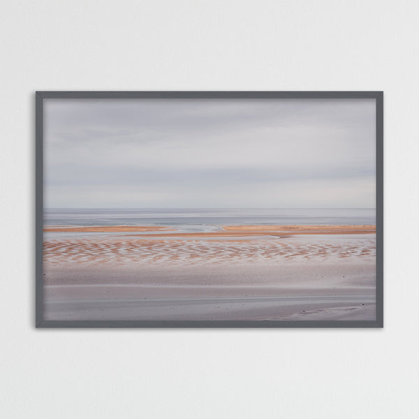 Minimalist Landscape of Rauðasandur Beach in Iceland | Photography Print by Northlandscapes