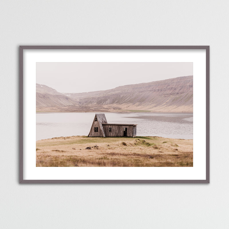 Abandoned Hut in the Westfjords of Iceland | Framed Photo Print by Jan Erik Waider