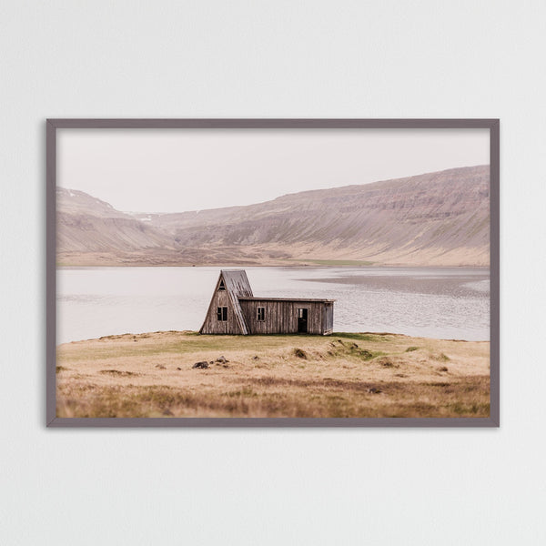 Abandoned Hut in the Westfjords of Iceland | Photography Print by Northlandscapes