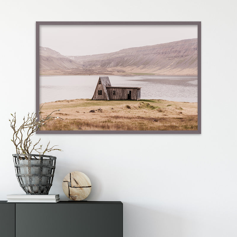 Abandoned Hut in the Westfjords of Iceland | Fine Art Photography Print by Northlandscapes