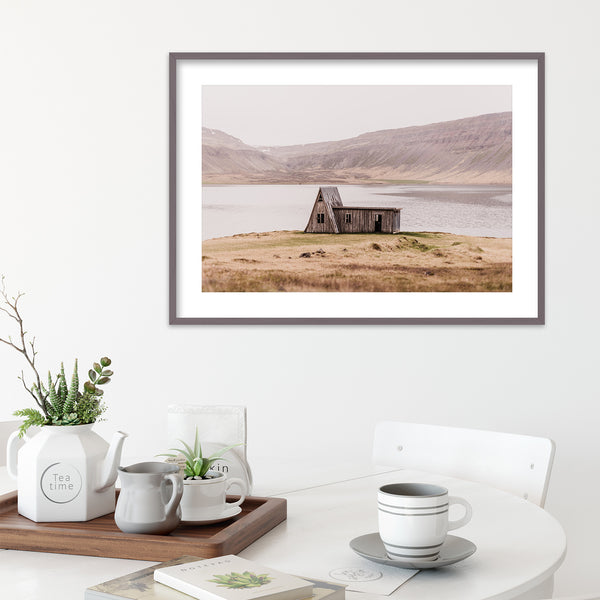Abandoned Hut in the Westfjords of Iceland | Wall Art Print by Jan Erik Waider