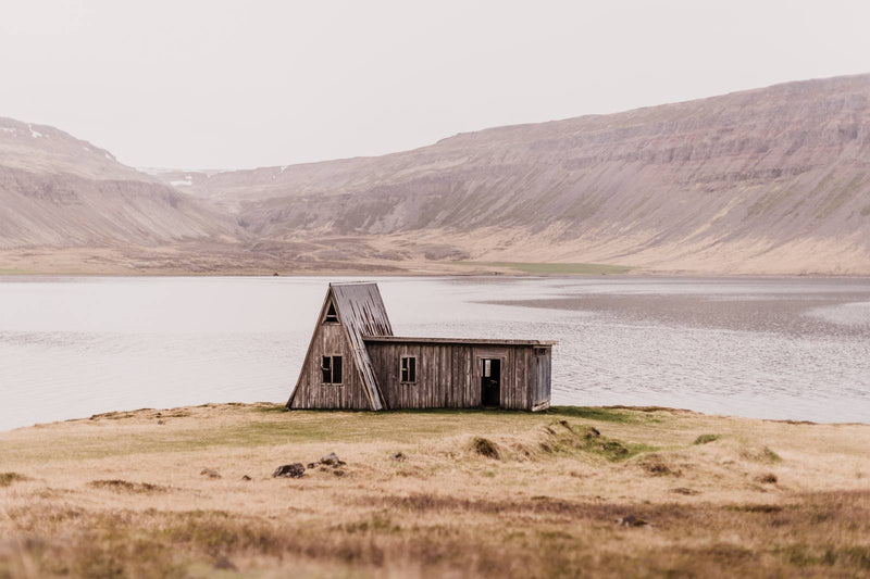 Abandoned Hut in the Westfjords of Iceland