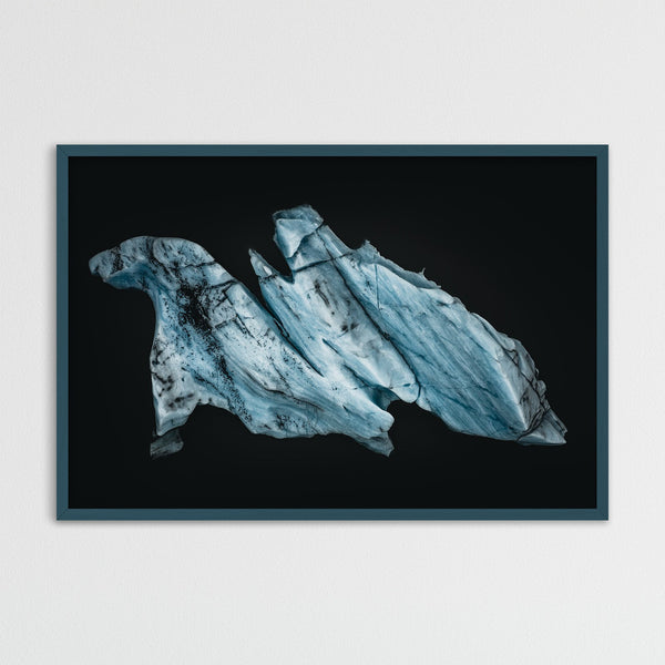 Aerial View of an Iceberg in Iceland | Photography Print by Northlandscapes