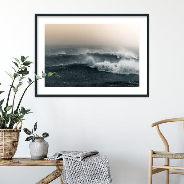 Ocean Waves of Reynisfjara Beach in Iceland | Wall Art Print by Jan Erik Waider