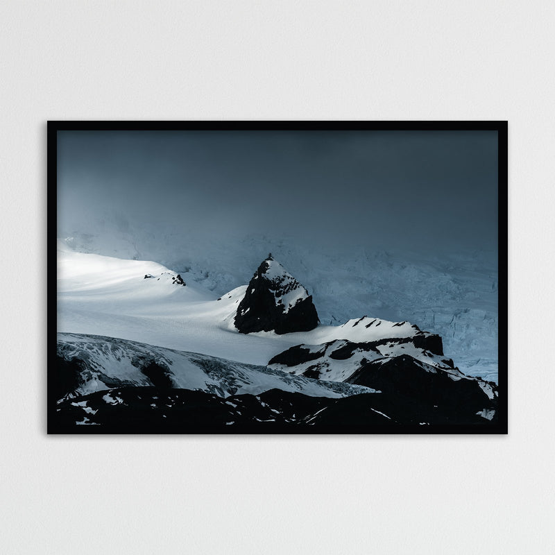 Mountain Peak and Vatnajökull Glacier | Photography Print by Northlandscapes