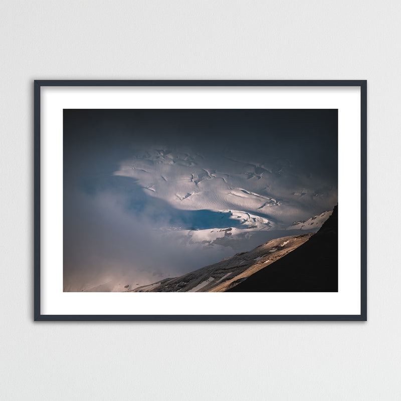 Clouds over Vatnajökull Glacier | Framed Photo Print by Jan Erik Waider