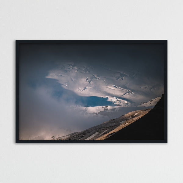 Clouds over Vatnajökull Glacier | Photography Print by Northlandscapes