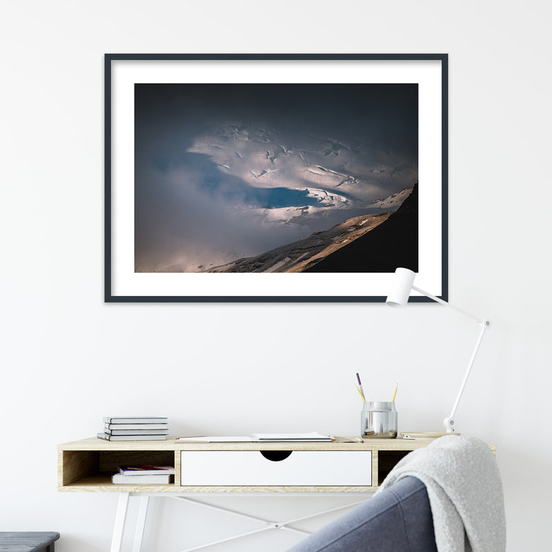 Clouds over Vatnajökull Glacier | Wall Art Print by Jan Erik Waider