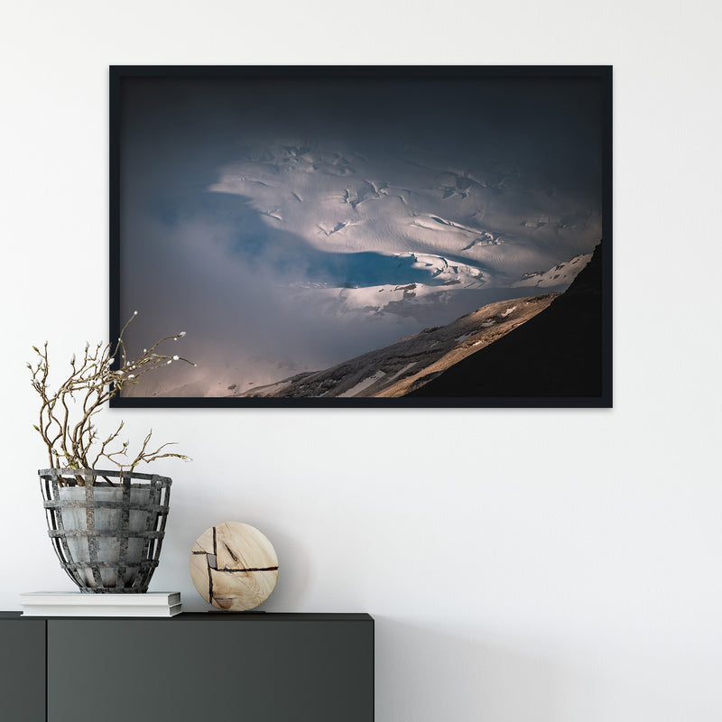 Clouds over Vatnajökull Glacier | Fine Art Photography Print by Northlandscapes