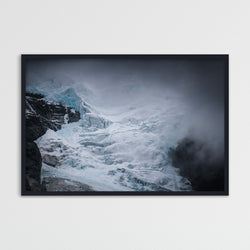 Kjenndalsbreen Glacier in Norway | Photography Print by Northlandscapes