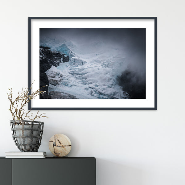 Kjenndalsbreen Glacier in Norway | Wall Art Print by Jan Erik Waider