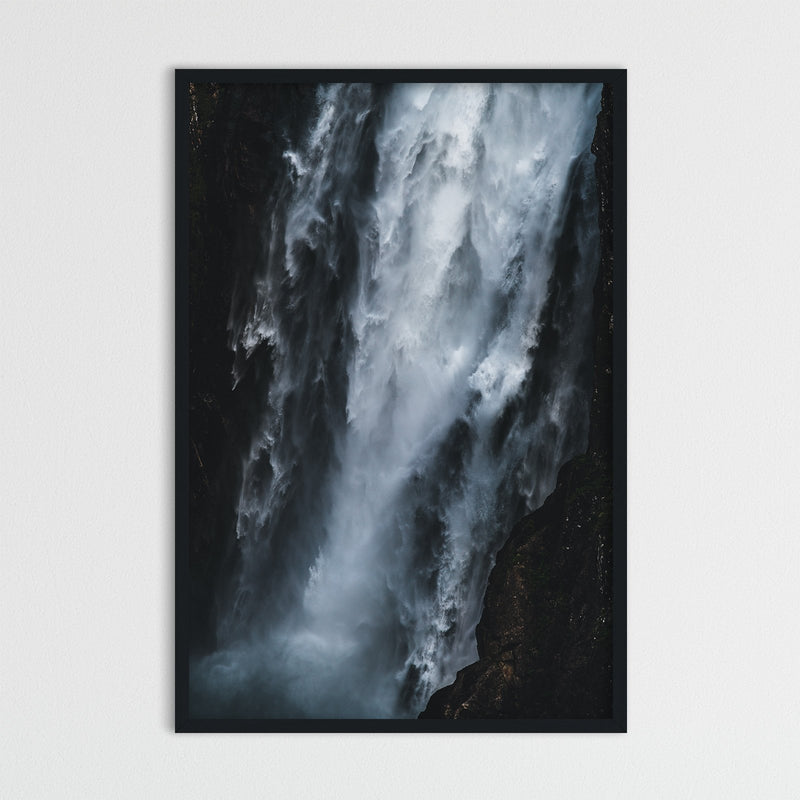 Abstract Vøringsfossen Waterfall in Norway | Photography Print by Northlandscapes