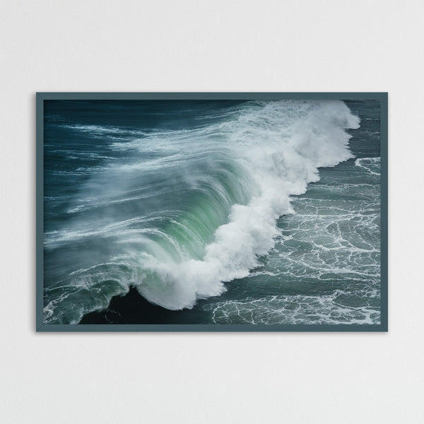 Huge Waves of Nazaré, Portugal | Photography Print by Northlandscapes